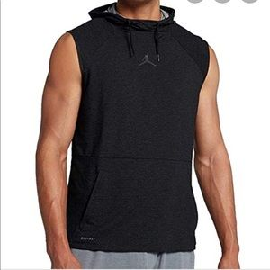 NWT Jordan Nike Men's Tech Sleeveless Hoodie Vest